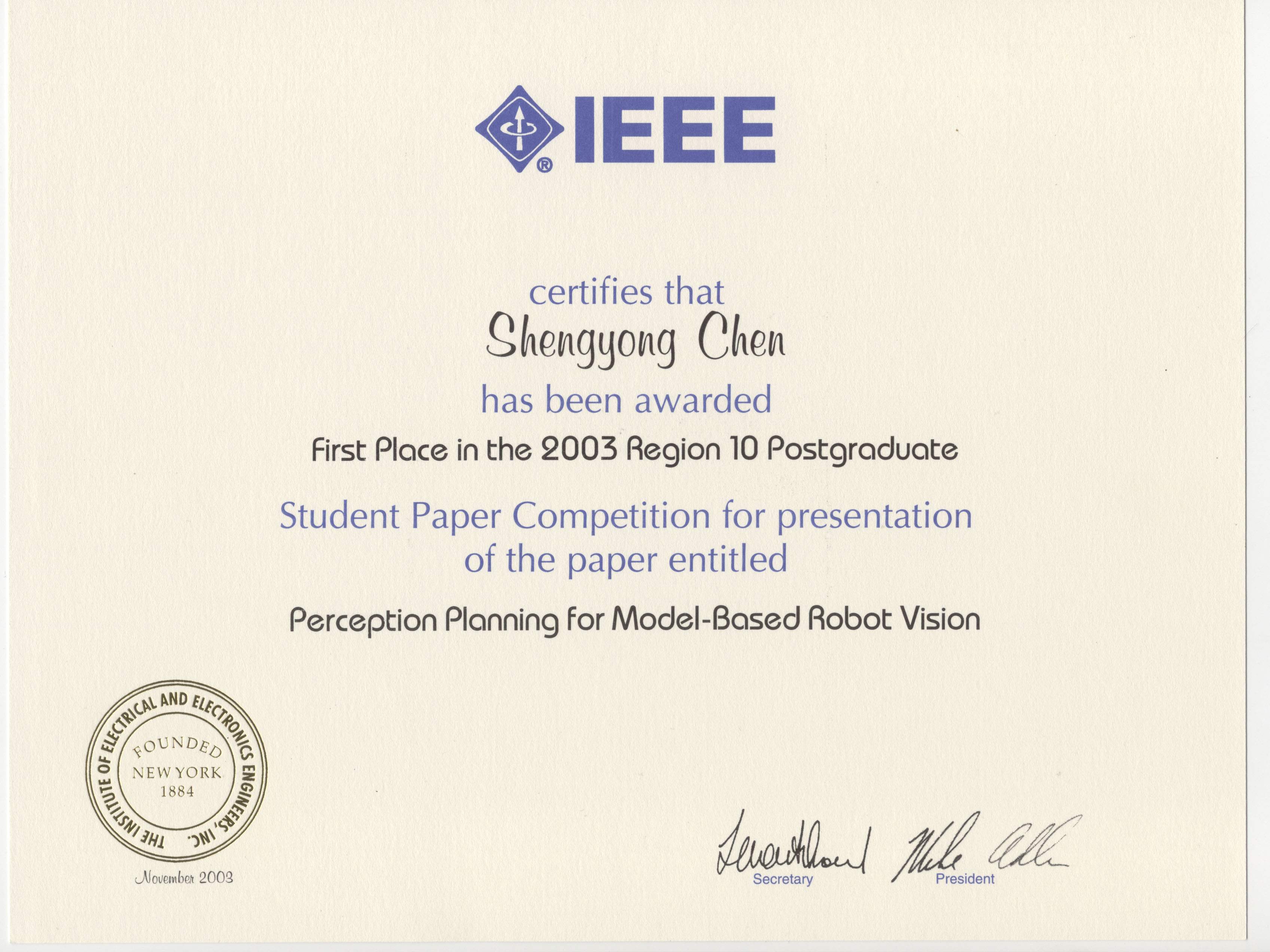 Research paper ieee